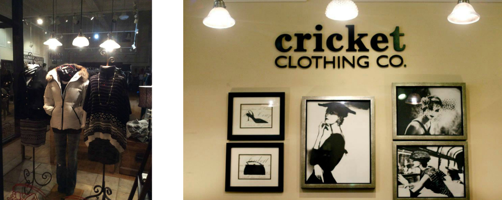 Shoptiques Boutique: Cricket Clothing Co