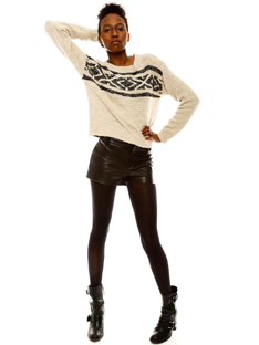 Shoptiques Chic 1-2-3: Leather Shorts