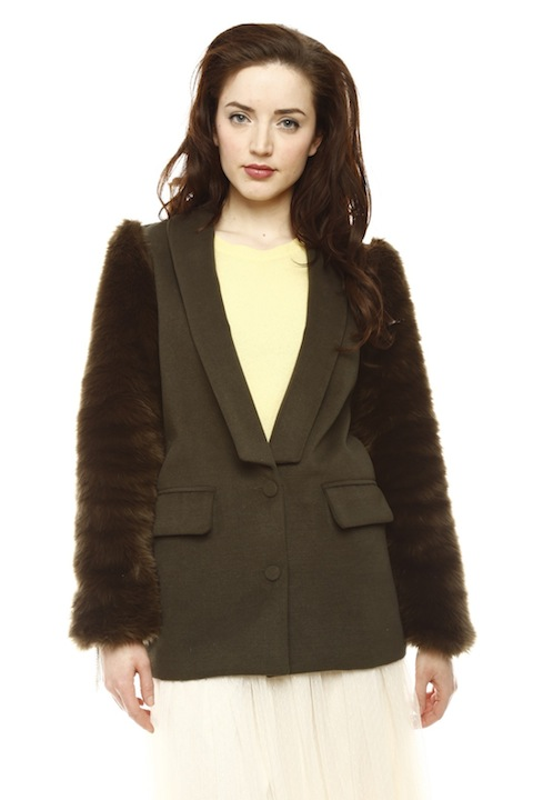 Shoptiques Look of the Day: Fur Jacket
