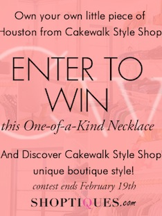 Shoptiques Cakewalk Style Giveaway: Official Rules