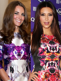 Shoptiques Fashion Showdown: Kate Middleton vs. Kim Kardashian