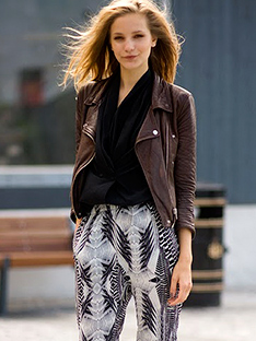 Shoptiques How to Wear Printed Pants