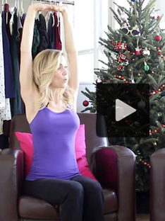Shoptiques Calming Yoga Moves for the Holidays