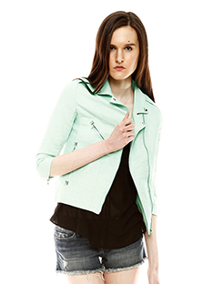 Shoptiques Chic 1-2-3: Mint Jacket