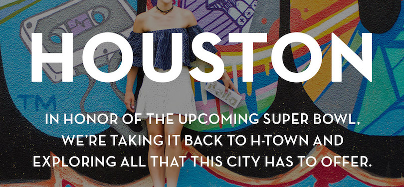 Shoptiques HOUSTON: what to see, where to eat and where to shop