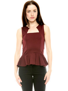 Shoptiques How to Wear the Peplum