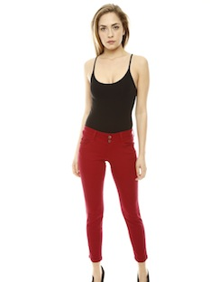 Shoptiques Chic 1-2-3: Color Jeans