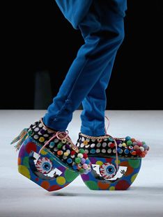 Shoptiques Frankly My Dear We Don't Give a Damn: Crazy Colorful Shoes