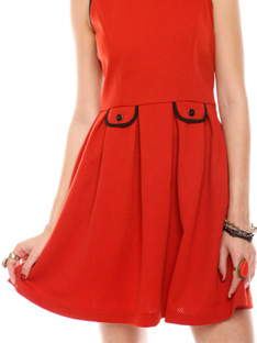 Shoptiques How to Wear: The Little Red Dress
