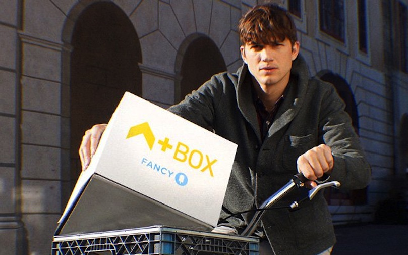Shoptiques SlideShow Ashton Kutcher Fancy Box