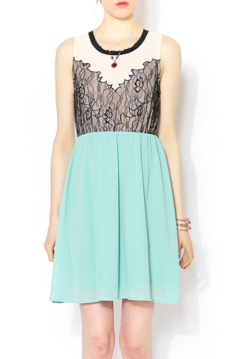 Shoptiques SlideShow Chantilly Lace Dress