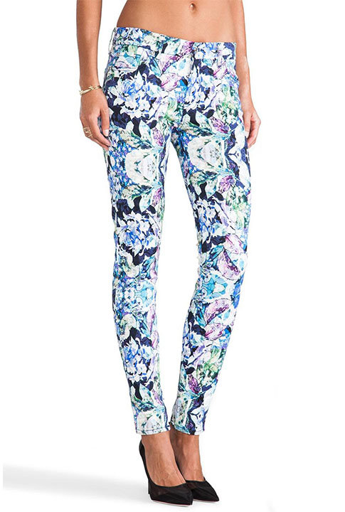 Shoptiques SlideShow Kaleidoscope Skinny Jeans