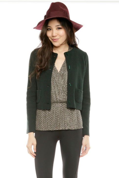 Shoptiques SlideShow Cropped Coat