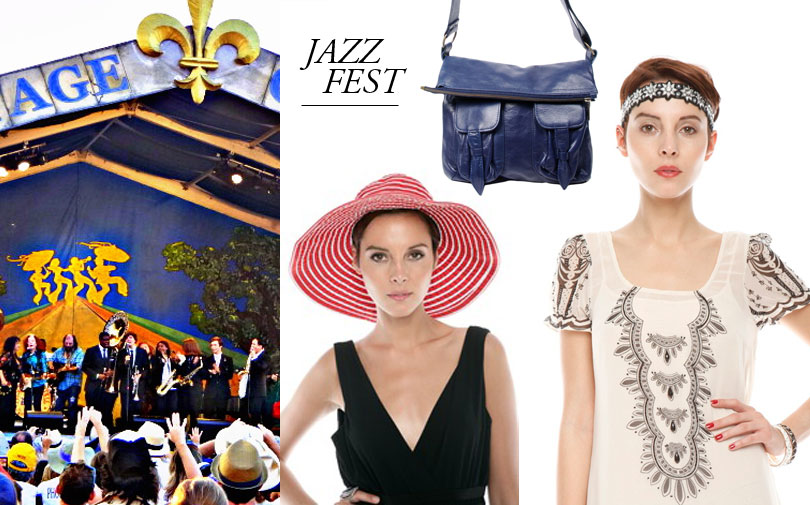 Shoptiques SlideShow Jazz Fest: April 26-May 5, New Orleans, LA