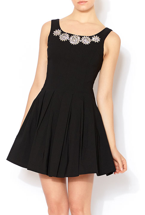 Shoptiques SlideShow Black Gem Dress