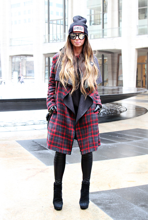 Shoptiques SlideShow Edgy Plaid