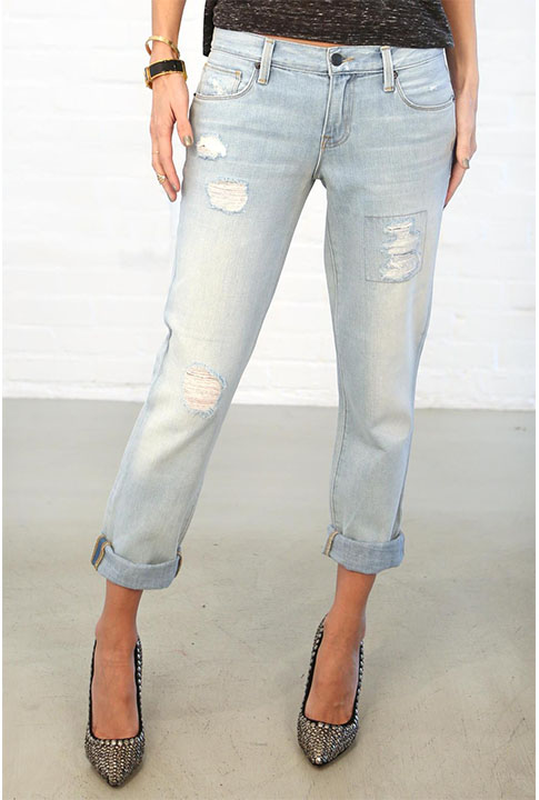 Shoptiques SlideShow Alexa Crop Denim
