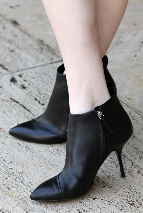 Shoptiques SlideShow Sleek Leather Booties