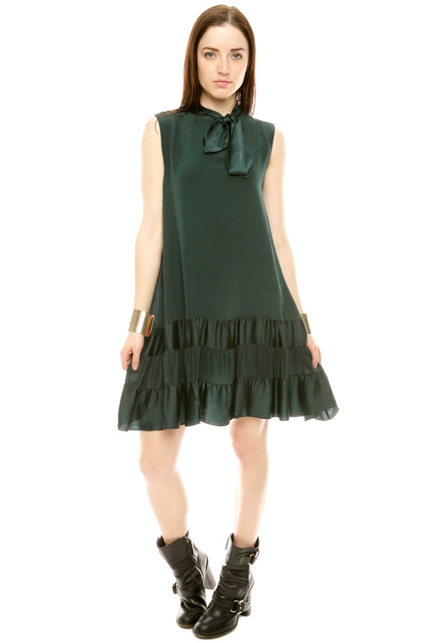 Shoptiques SlideShow Tiered Trapeze Dress