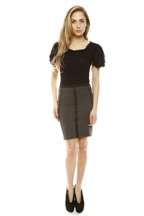 Shoptiques SlideShow Skirt Smart