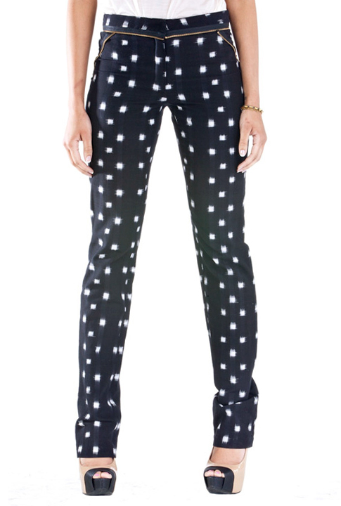Shoptiques SlideShow Printed Polka Dots