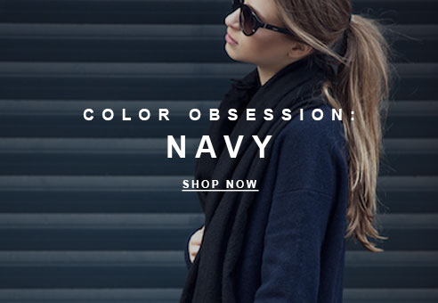 Color Obsession: Navy