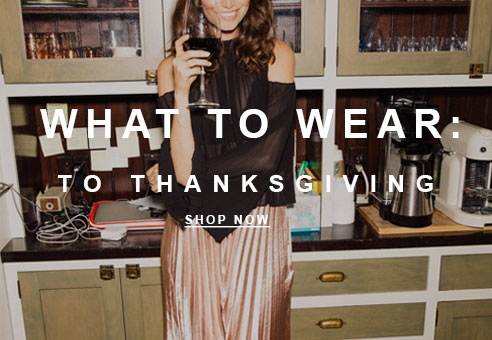 What To Wear to Thanksgiving