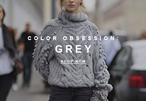 Color Obsession: Grey