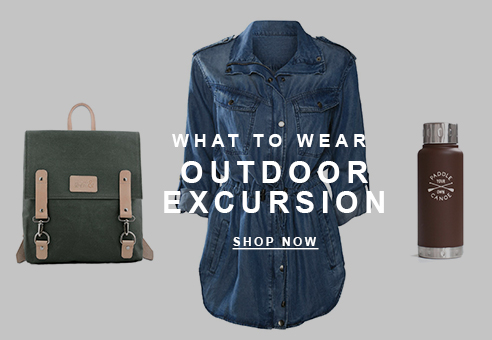 What to Wear Outdoor Excursion