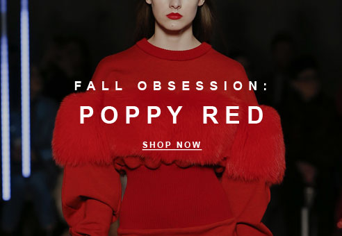 Fall Obsession: Poppy Red