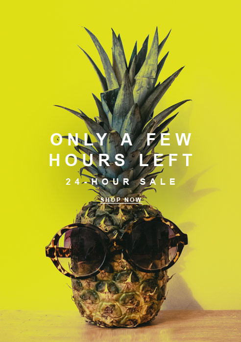 Only a Few Hours Left! 24-Hour SALE