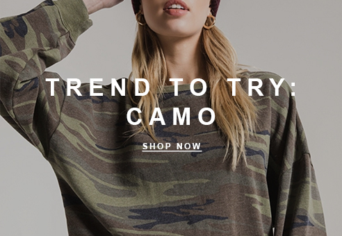 Trend to Try: Camo
