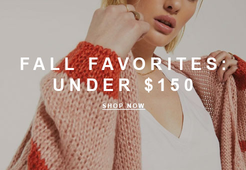 Fall Faves Under $150