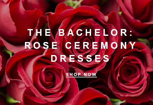 The Bachelor: Rose Ceremony Dresses