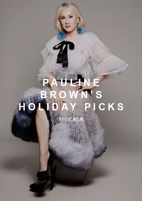 Pauline Brown's Holiday Picks
