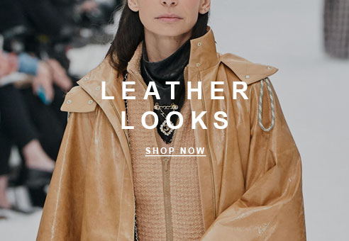 Fall Trend: Leather Looks