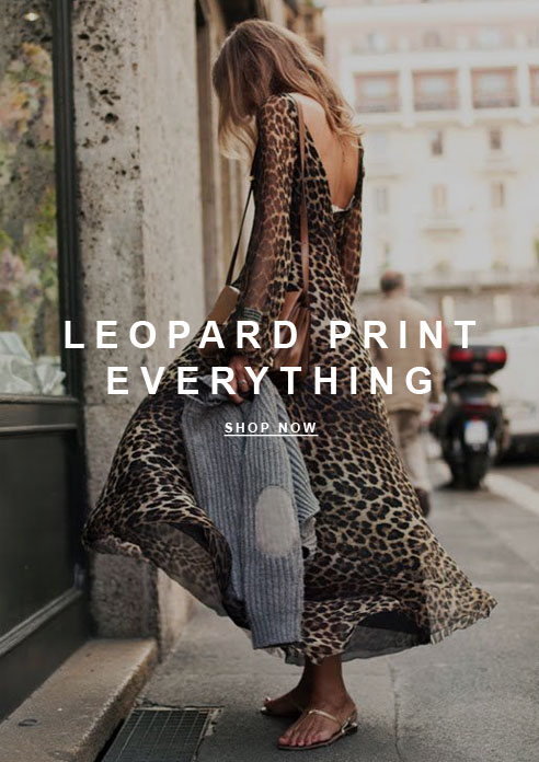 Leopard Print Everything