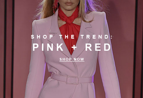 Shop the Trend: Pink + Red