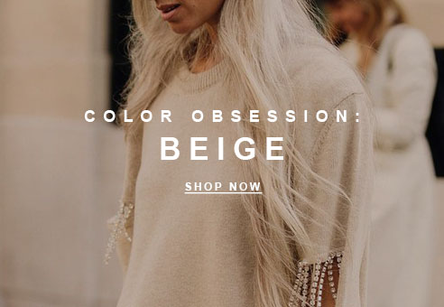 Color Obsession: Beige