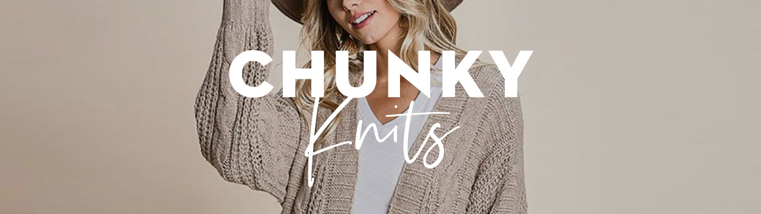 Shoptiques Fashion Trends: Fall Trends: Chunky Knits
