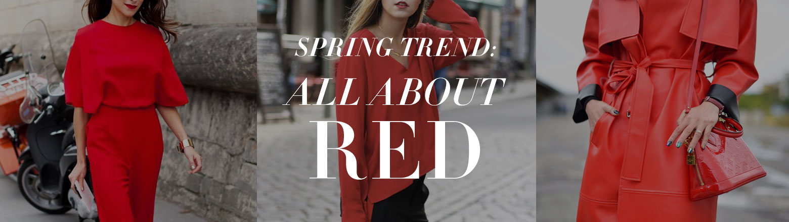 Shoptiques Fashion Trends: Spring Trends: Red