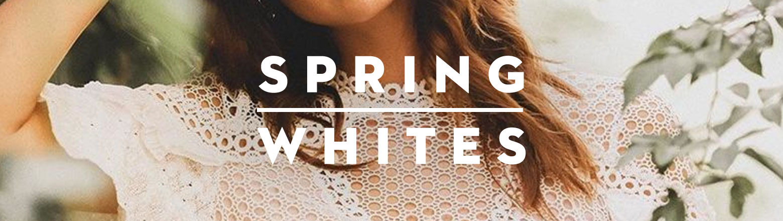 Shoptiques Fashion Trends: Spring Whites