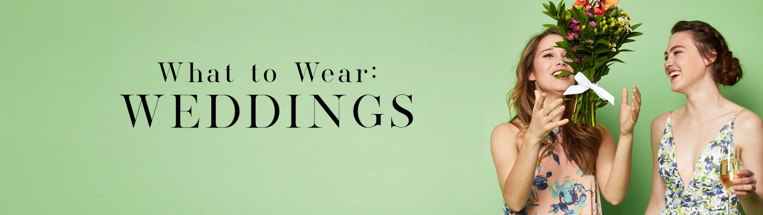 Shoptiques Fashion Trends: What to Wear: Weddings