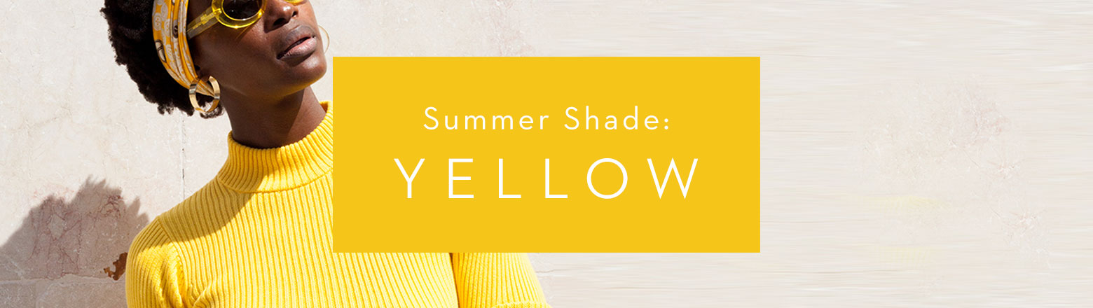 Shoptiques Fashion Trends: Summer Shade: Yellow
