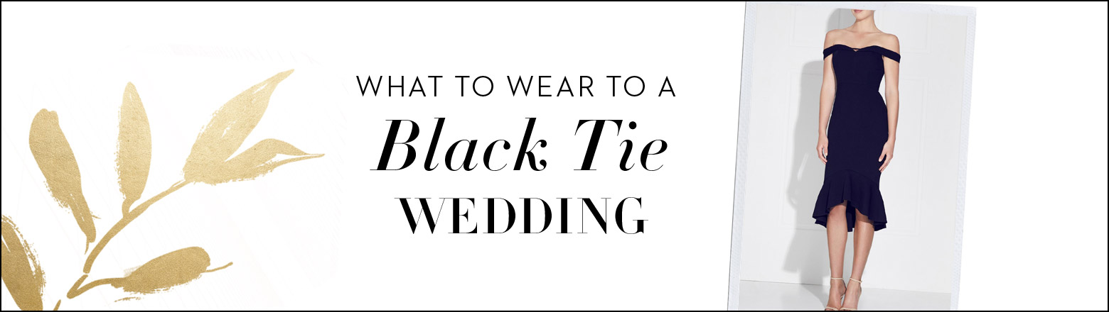 Shoptiques Fashion Trends: Summer Wedding: Black Tie