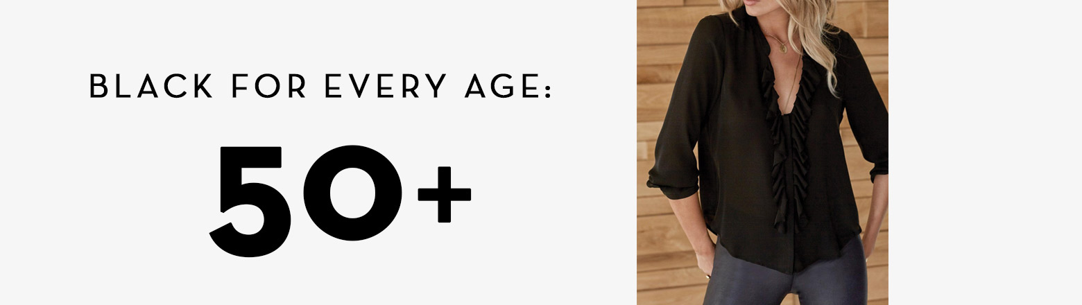 Shoptiques Fashion Trends: Black For Every Age: 50+