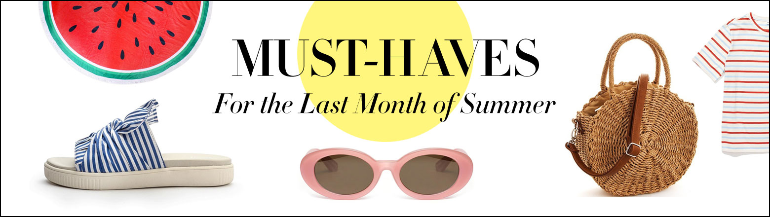 Shoptiques Fashion Trends: August Must Haves