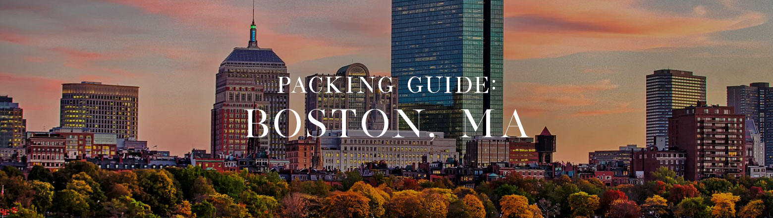 Shoptiques Fashion Trends: Packing Guide: Boston