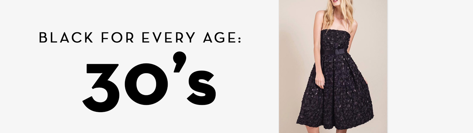 Shoptiques Fashion Trends: Black For Every Age: 30's