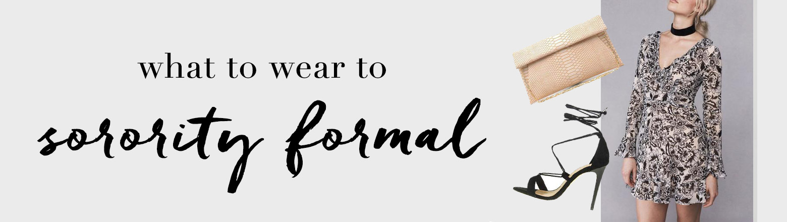 Shoptiques Fashion Trends: What to Wear: Sorority Formals
